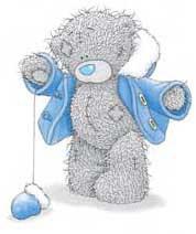 Мишки Тедди на льду